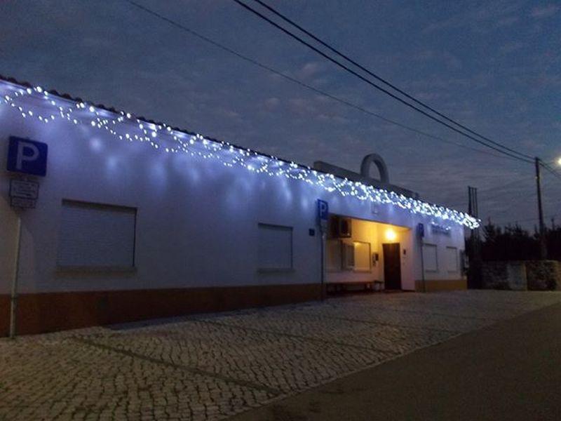 Iluminação de Natal na Sede da Junta