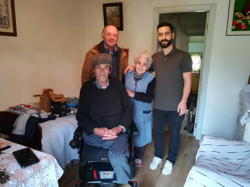 José Mouxo recebe cadeira elétrica