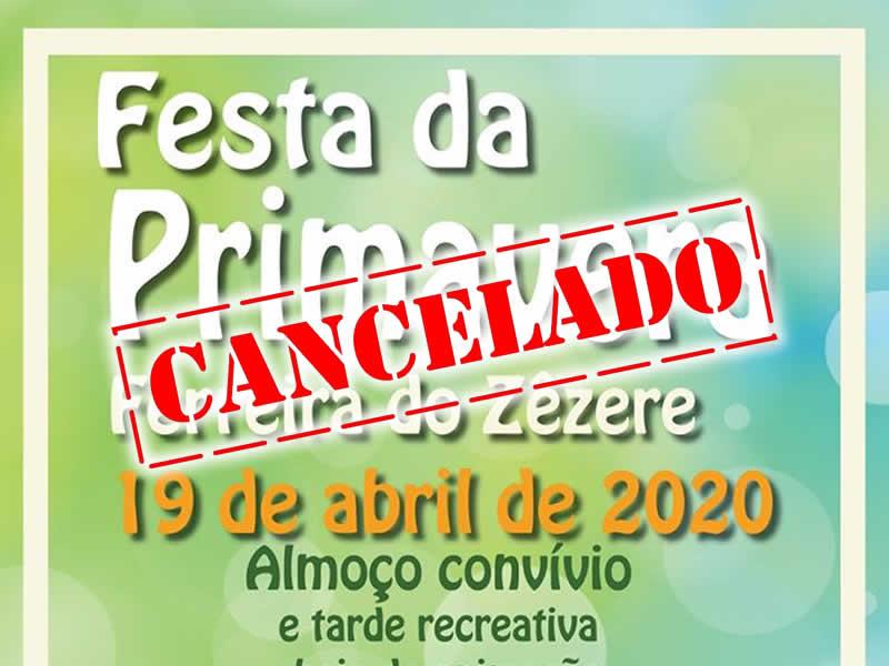 Festa da Primavera cancelada devido à propagação de COVID-19